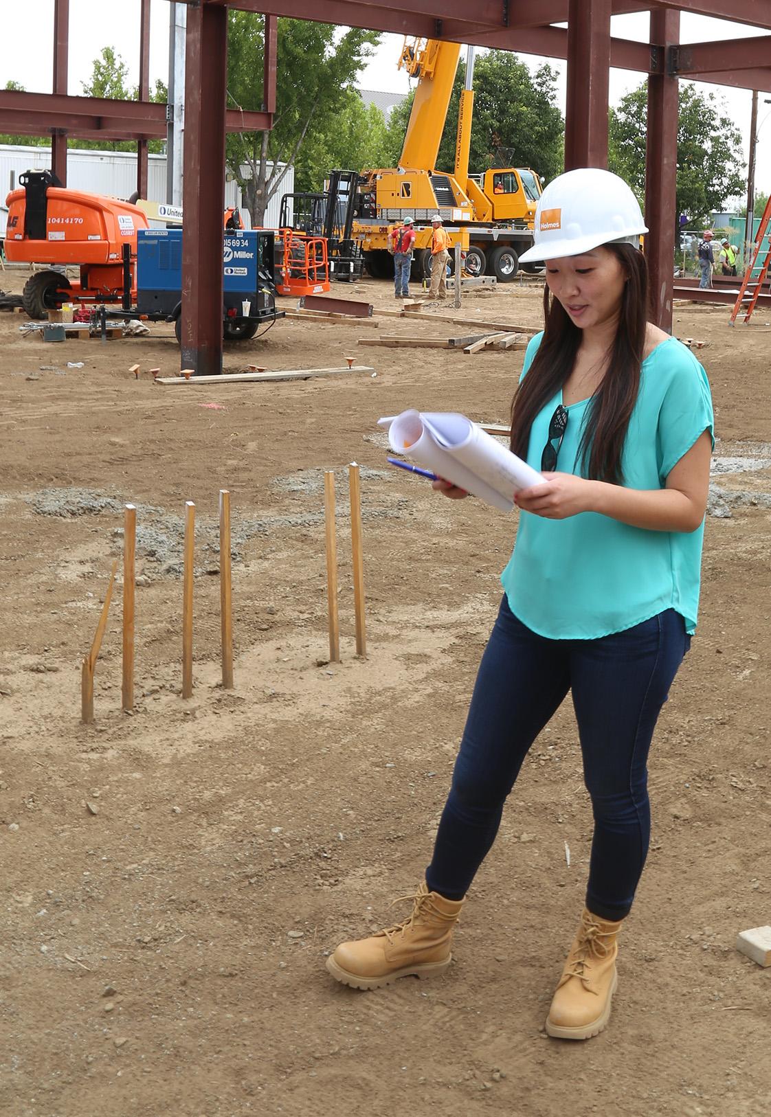 Megan Stringer Holmes Structures Site Visit