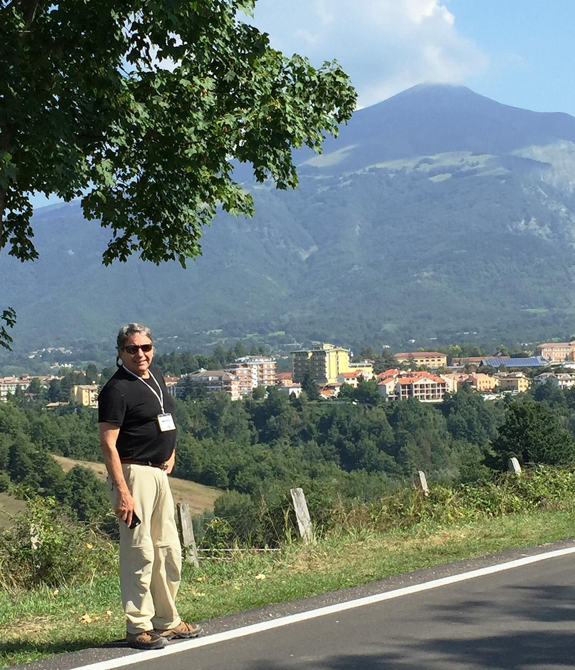 Richard Dreyer of Holmes Structures Italian Hillside