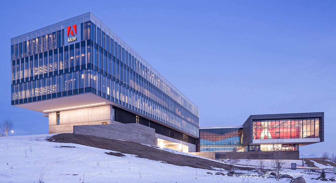 Adobe Corporate Campus Levi Utah Exterior
