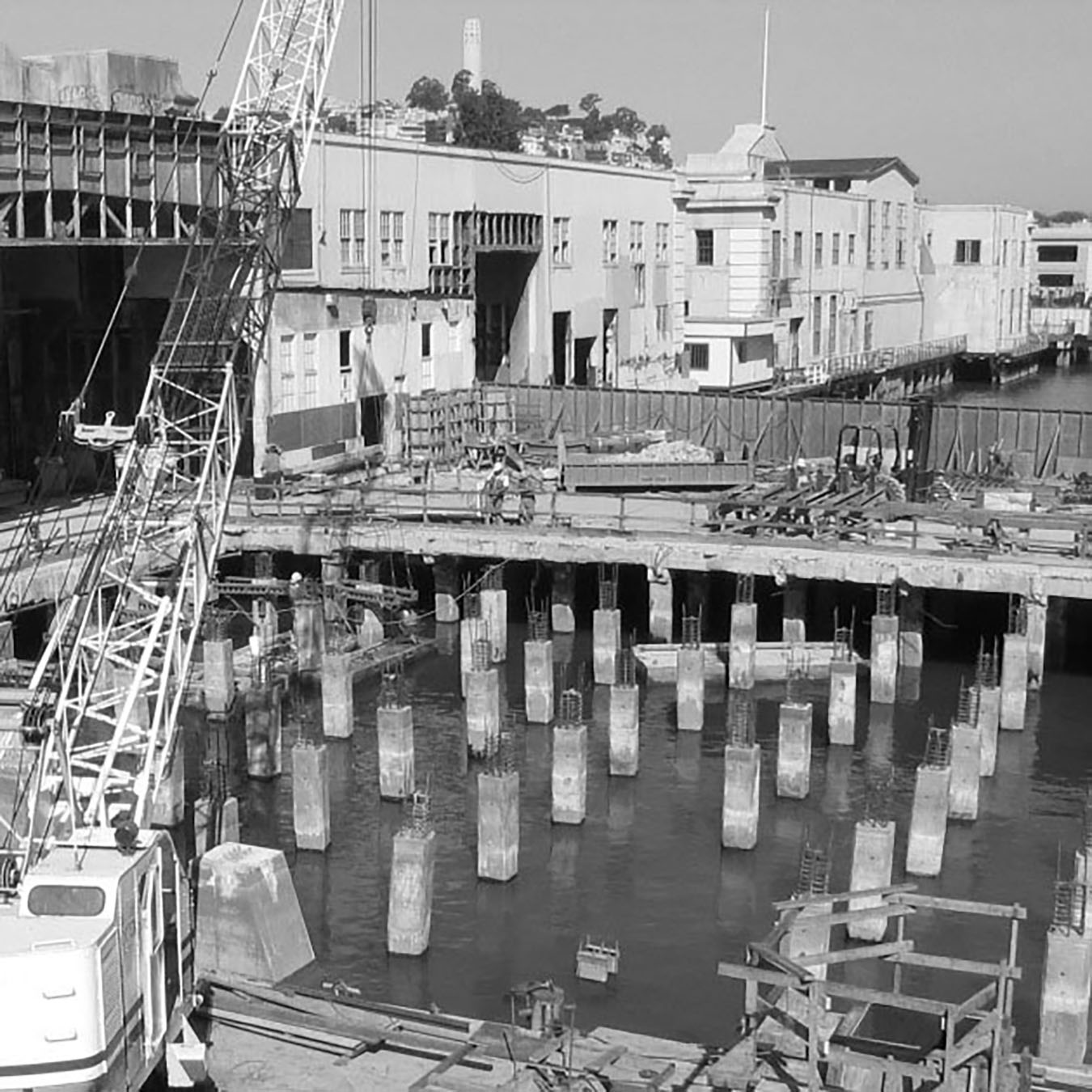 San Francisco waterfront rehabilitation