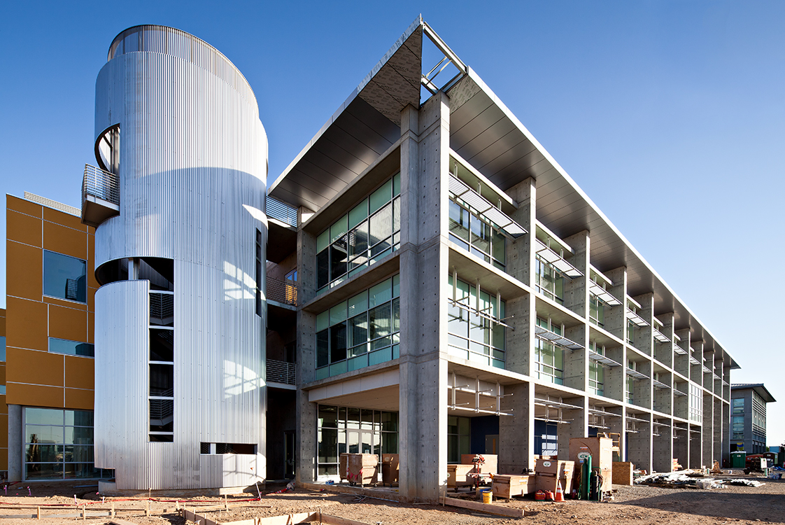 UC Merced Social Sciences Building External Staircase