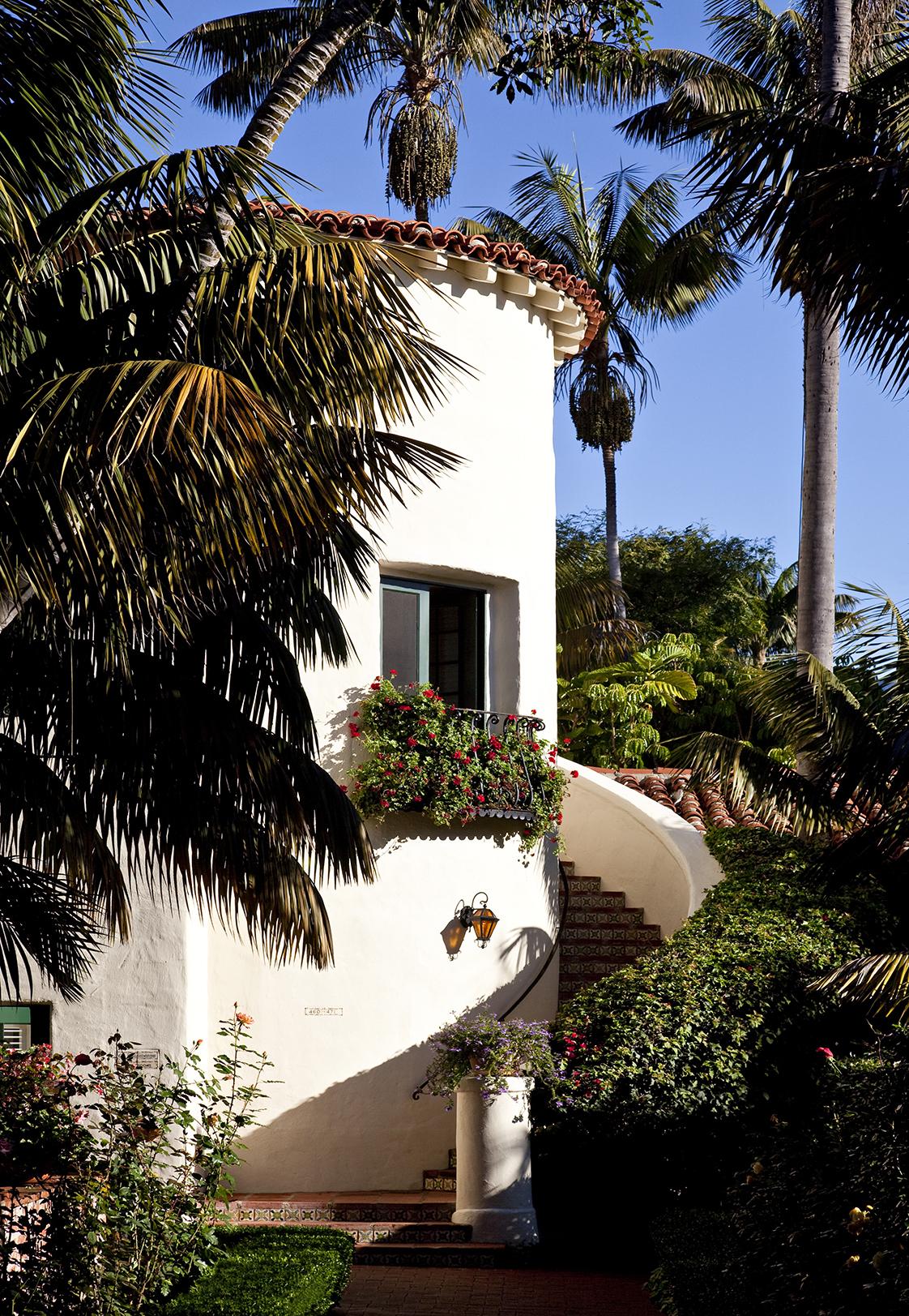 Four Seasons Resort The Biltmore circular tower stairs