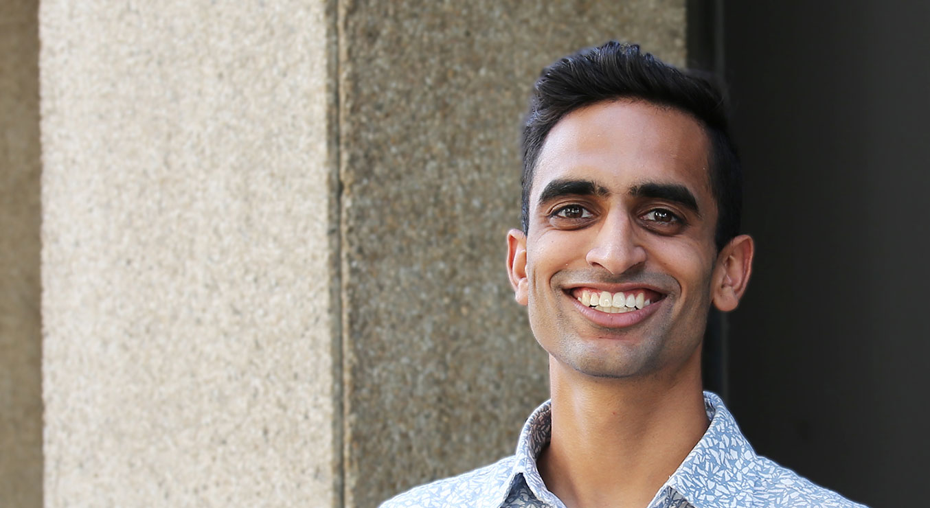 Suraj Patel in Downtown Los Angeles