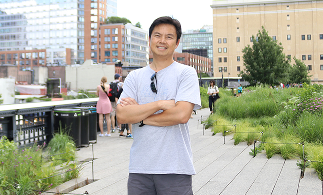 Ben Au of Holmes Structures at The High Line, New York