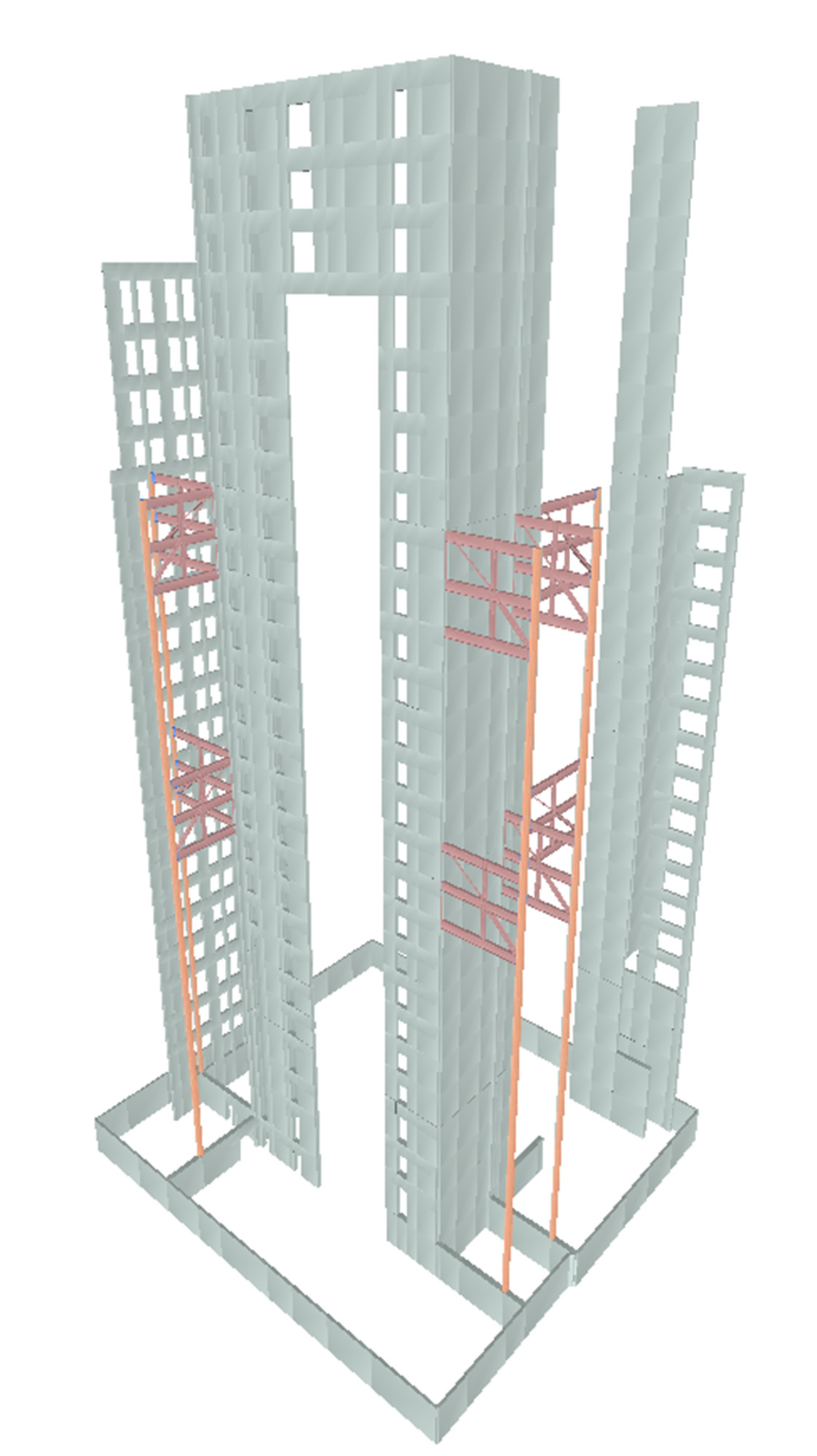 140 New Montgomery Structural Model