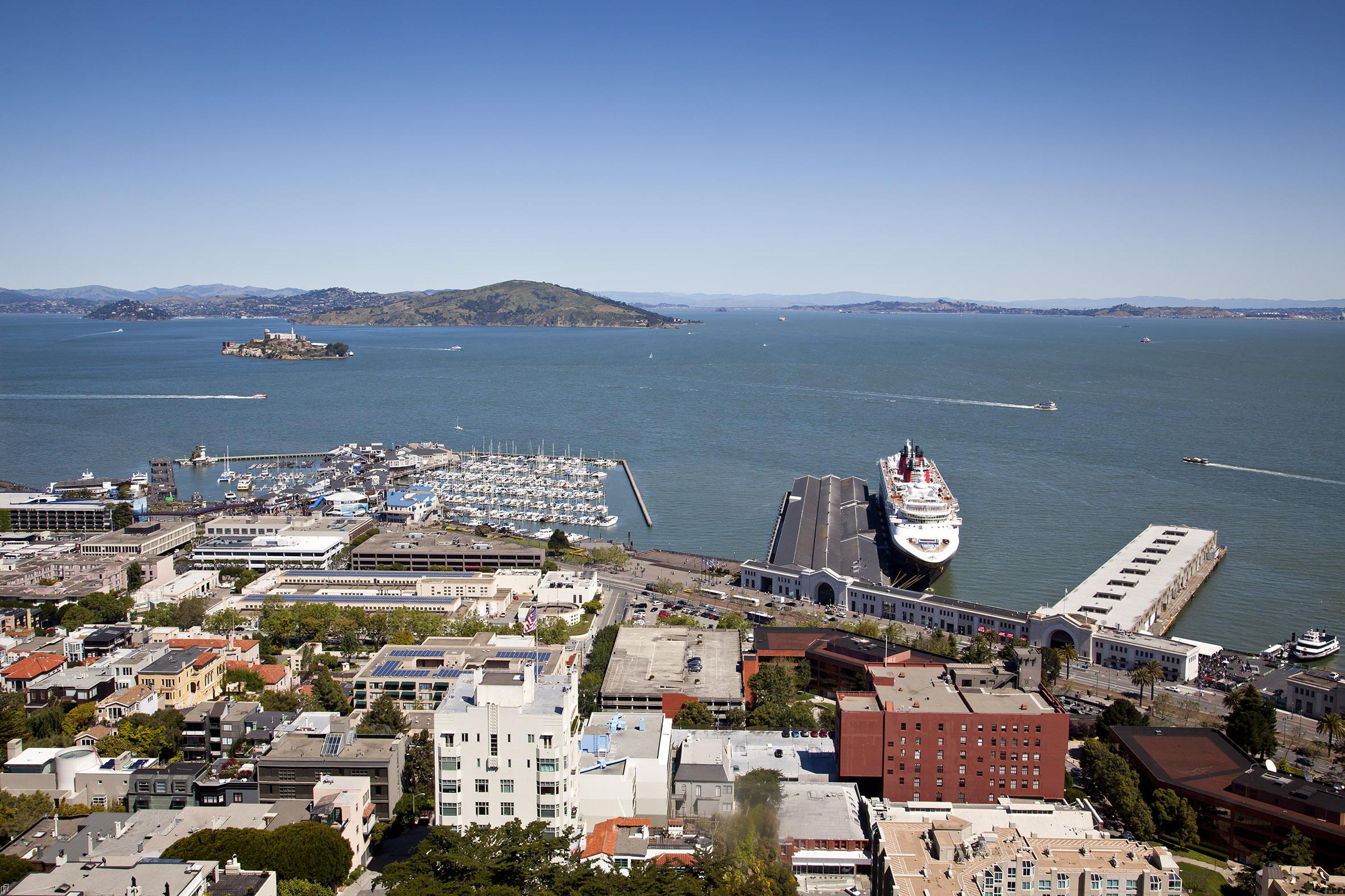 San Francisco Bay and Embarcadero