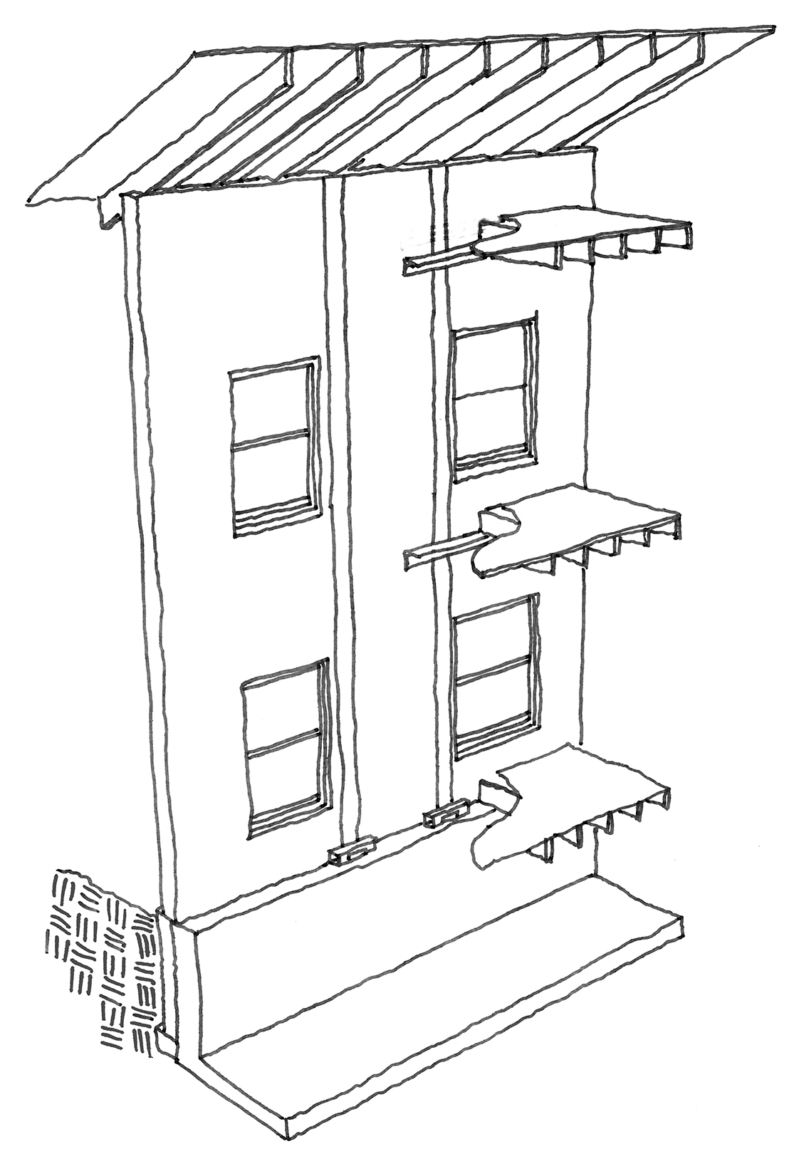 Presidio strengthening diagram