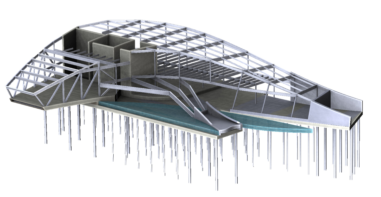 AltaSea Structural Model of Foundations