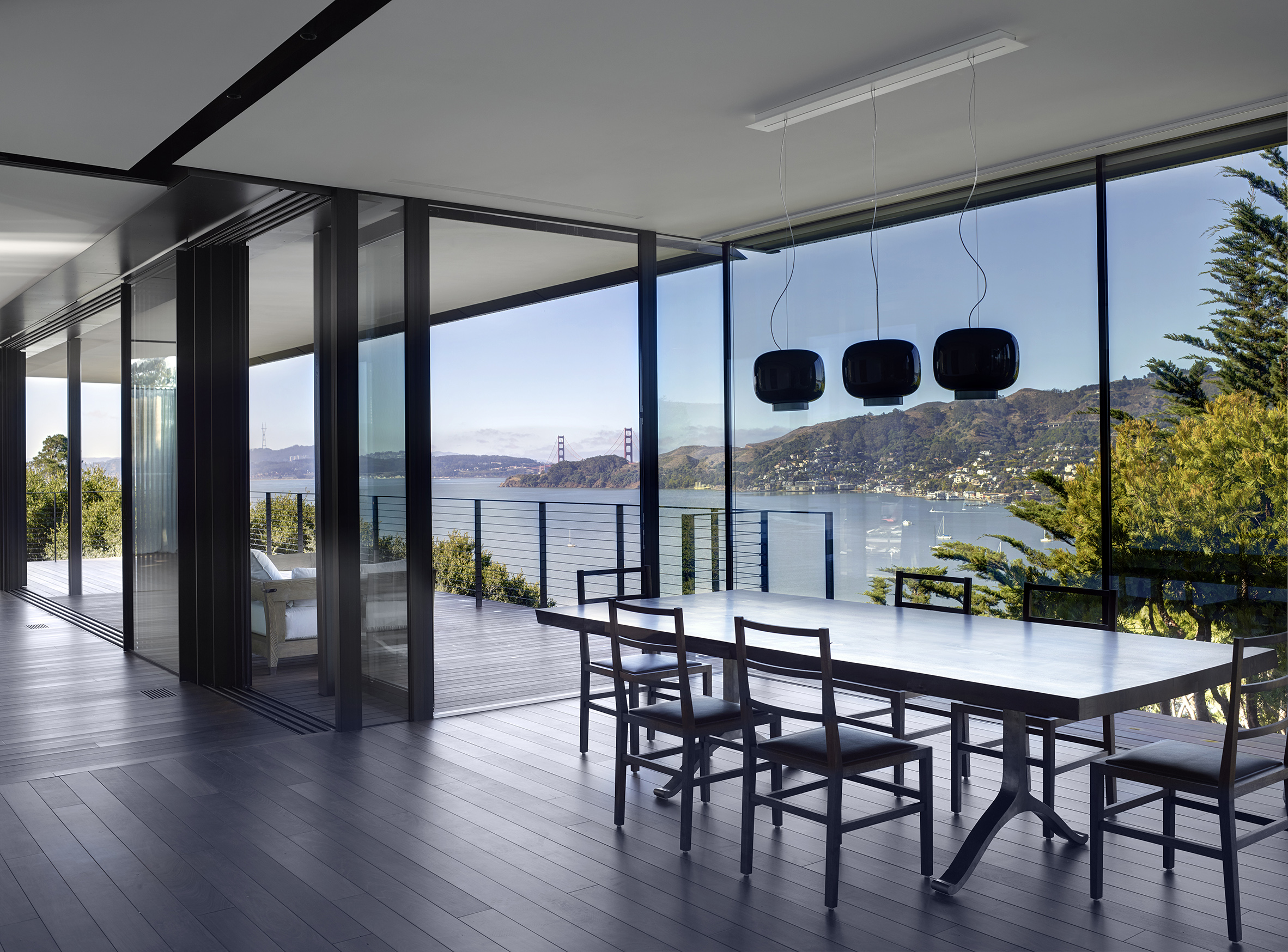 Eucalyptus Residence view from dining room