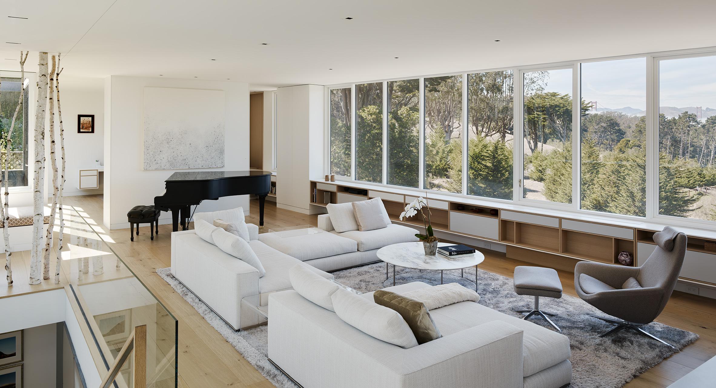 Spruce Street Residence living room