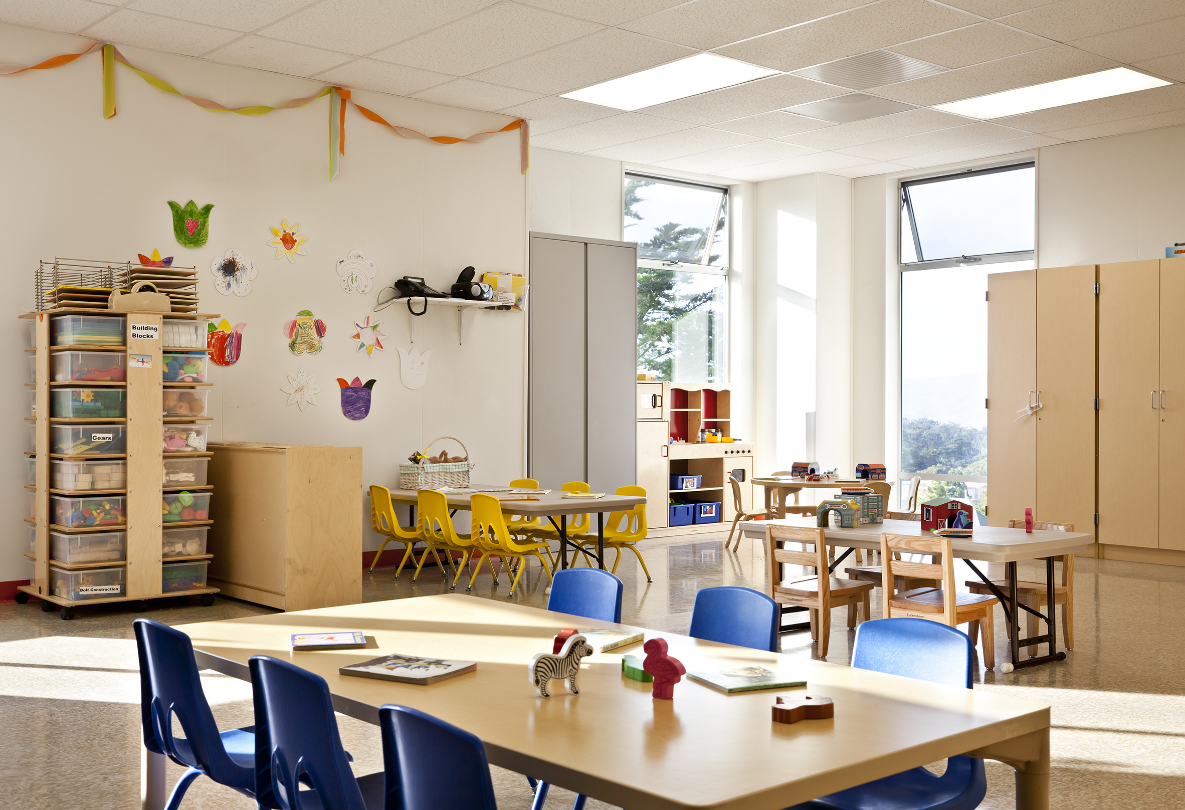 UCSF Kirkham Child Development Center Classroom Interior