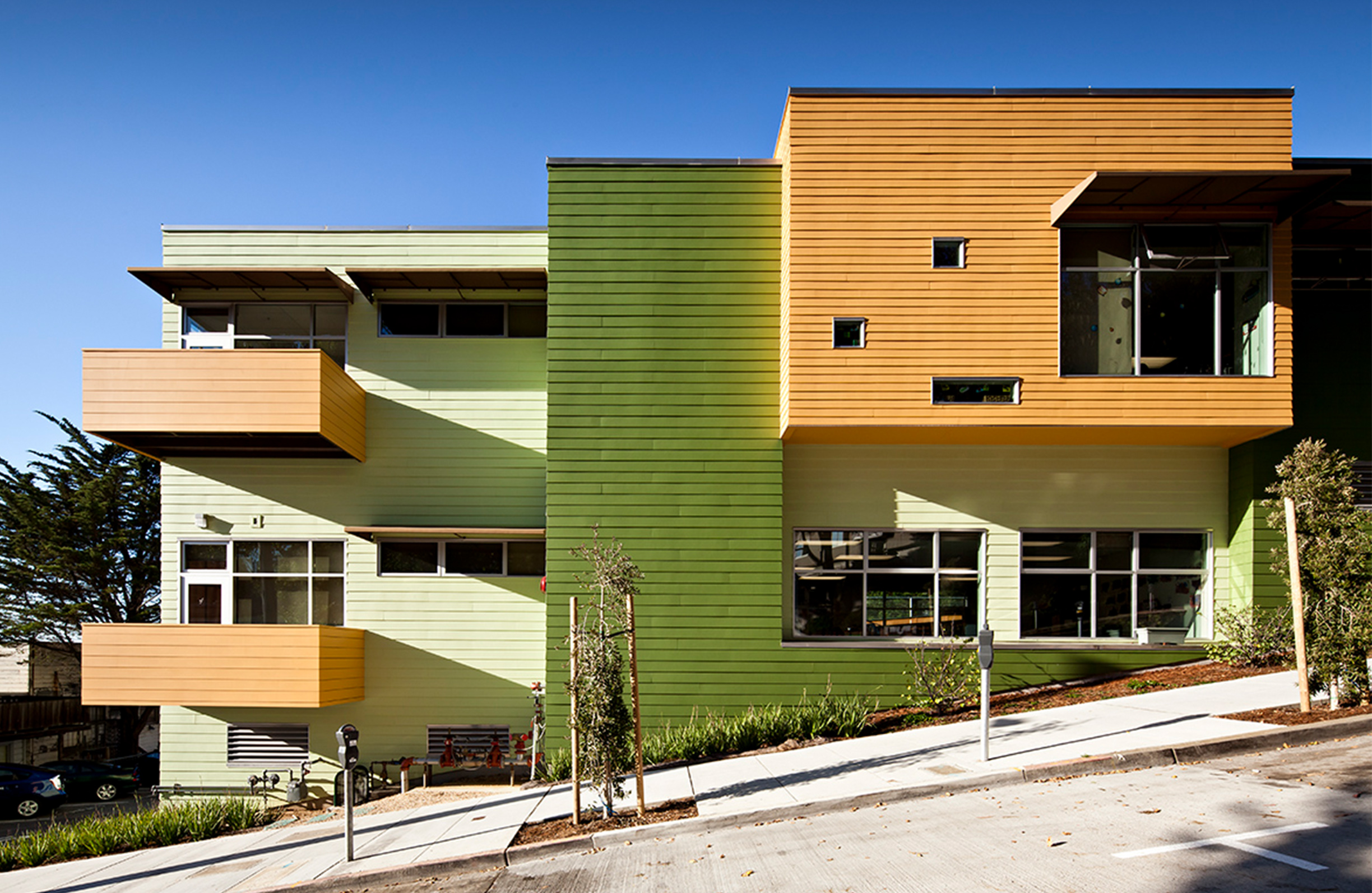 UC San Francisco Kirkham Child Development Center Exterior San Francisco Facade Outside Daytime