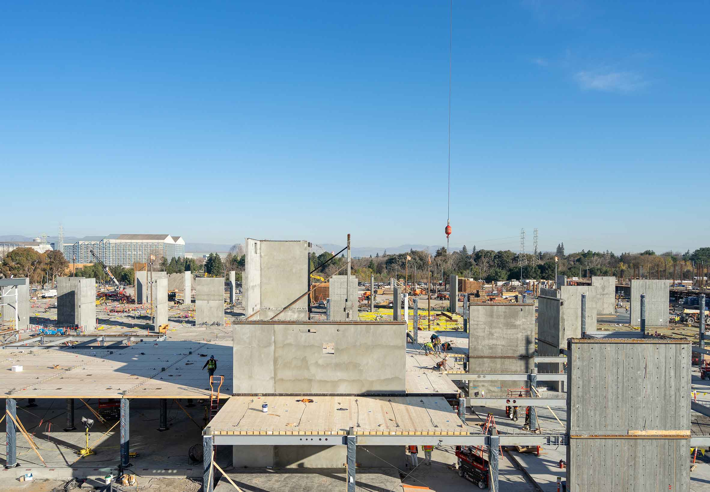 Cross-Laminated Timber (CLT) Construction at Confidential Corporate Campus in Silicon Valley, California