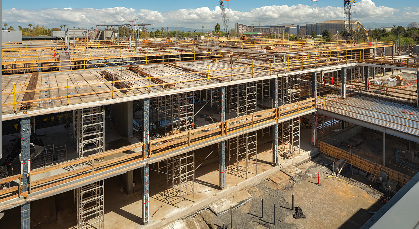 Mass Timber Corporate Campus Under Construction in California