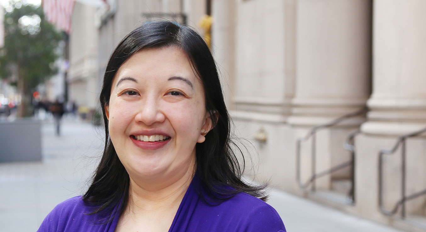 Deanna Jung of Holmes Structures in Downtown San Francisco
