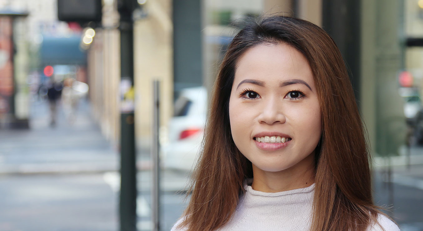 Yuki Huynh with Holmes Structures in San Francisco