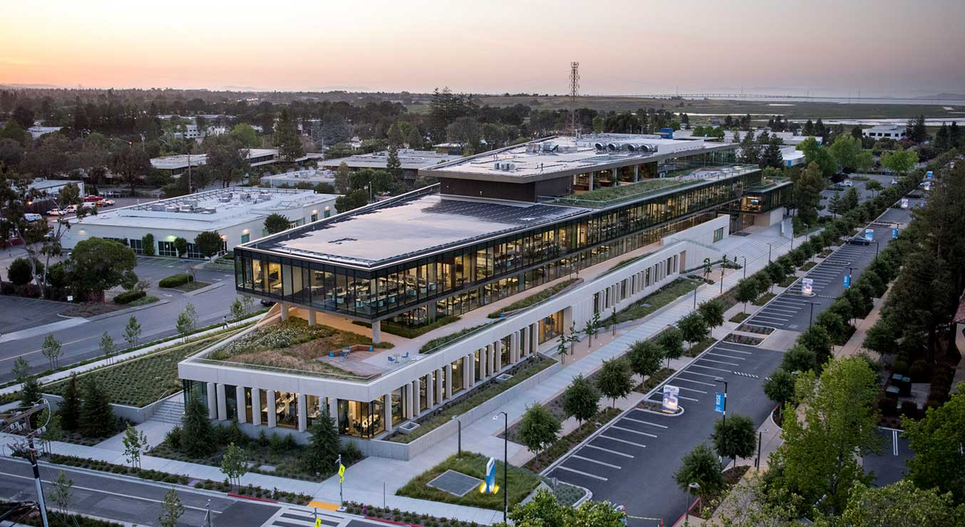 Carbon Neutral design Intuit Marine Way Building Mountain View California