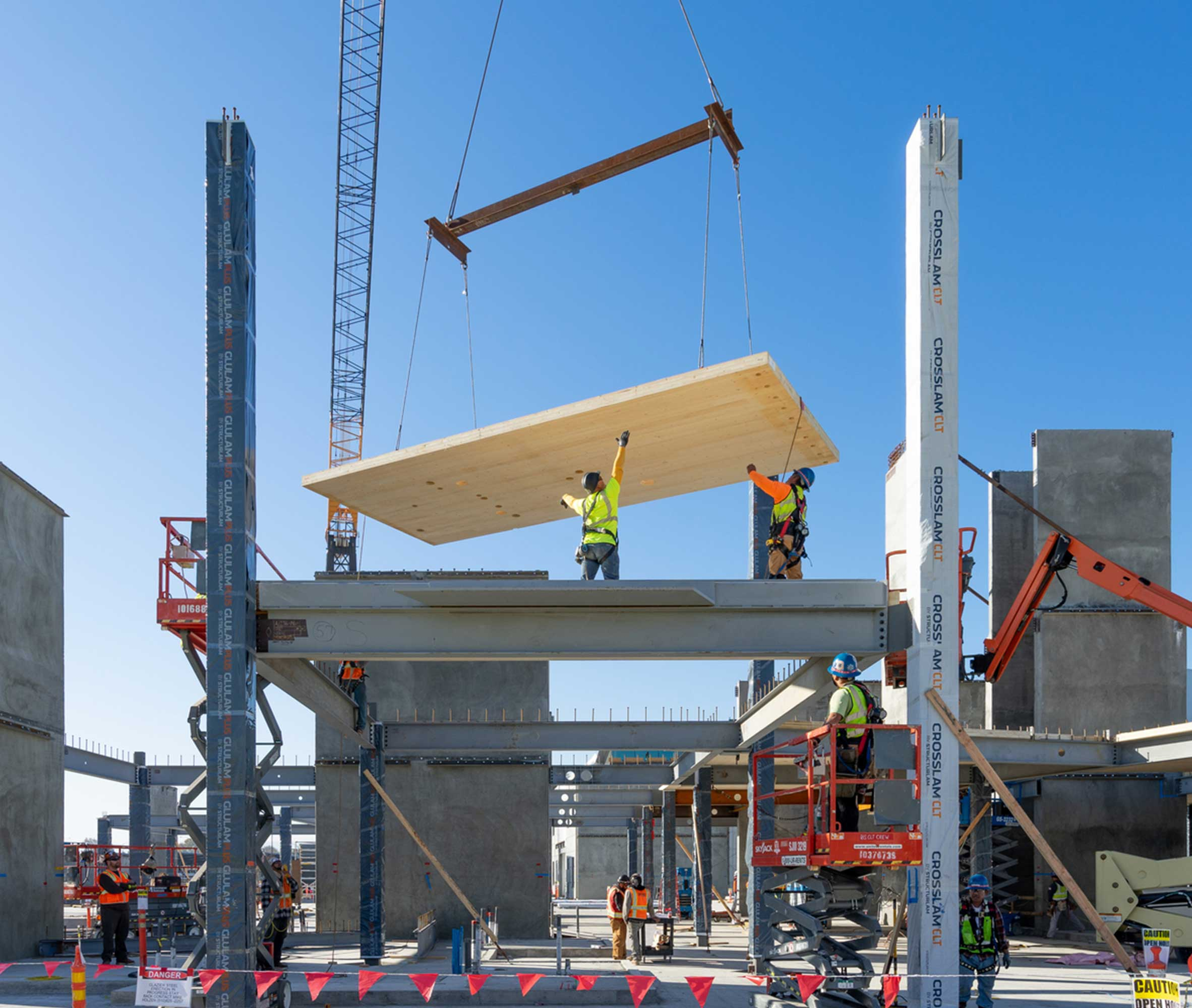Carbon Neutral Design Mass Timber Building Confidential Corporate Campus Mountain View California